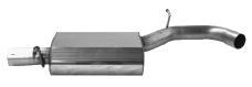 Vorschalldämpfer für Endschalldämpfer VWG5/TA-Q76SL