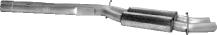 Vorschalldämpfer 6 Zyl. Frontantrieb außer Diesel