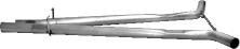 Ersatzrohr für Vorschalldämpfer (ohne TÜV) 6 Zyl. Quattro + 8 Zyl. S4