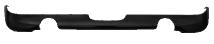 Heckschürzen-Einsatz, lackierfähig, mit Ausschnitt LH + RH, für Einfach- Endrohr Ausgang LH + RH, macht ein Ausschneiden der Original-Heckschürze unnötig.
