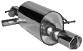 Endschalldämpfer mit Einfach-Endrohr RH 1x Ø 90 mm