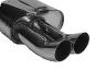 Endschalldämpfer LH DTM mit Doppel-Endrohr 2 x Ø 76 mm