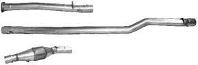 Gruppe N – Motorsportanlage (ohne TÜV), bestehend aus Verbindungsrohr vorne, Verbindungsrohr Mitte und Sportkatalysator