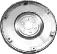Leichte Stahlschwungscheibe inkl. Zahnkranz 6-Loch-Befestigung Gewicht: 5.650 gr.