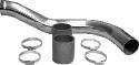 Rohrkit inkl. Blaue Verbindungsschläuche und Edelstahlbandschellen (ersetzt den Schlauch zwischen Ladeluftkühler und Drosselklappe)