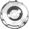 Leichte Stahlschwungscheibe inkl. Zahnkranz 8-Loch-Befestigung passend für V6 Modelle Gewicht: 5.650 gr.