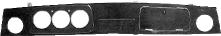 Armaturenbrett Wurzelholz mit Ausschnitt für Rundinstrumente 3 x Ø 80 mm