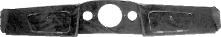 Armaturenbrett Wurzelholz 3-teilig mit Ausschnitt für Rundinstrumente 1 x Ø 120 mm 2 x Ø 52 mm