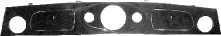 Armaturenbrett Wurzelholz mit Ausschnitt für Rundinstrumente 1 x Ø 120 mm 2 x Ø 52 mm