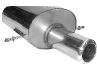 Endschalldämpfer mit Einfach-Endrohr 1 x Ø 100 mm (im Audi TT Armaturen- Design)