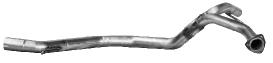 Verbindungsrohr vorne für Endschalldämpfer LH + RH