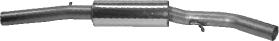 Vorschalldämpfer Golf 4 V6 4 Motion