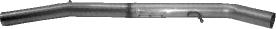Ersatzrohr für Vorschalldämpfer (ohne TÜV) Golf 4 V6 4 Motion