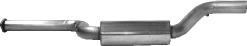 Mittelschalldämpfer Volvo S40/V50